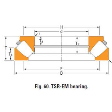 Rolamento de rolos esféricos de impulso 29372em