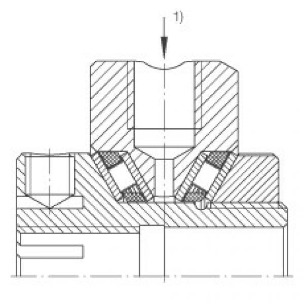 FAG Rolamentos axiais de agulhas de contato angular - ZAXFM0835 #3 image
