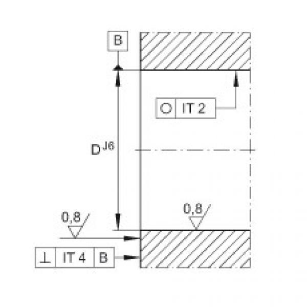 FAG Unidades de rolamento de esfera de contato angular - ZKLFA0640-2Z #2 image
