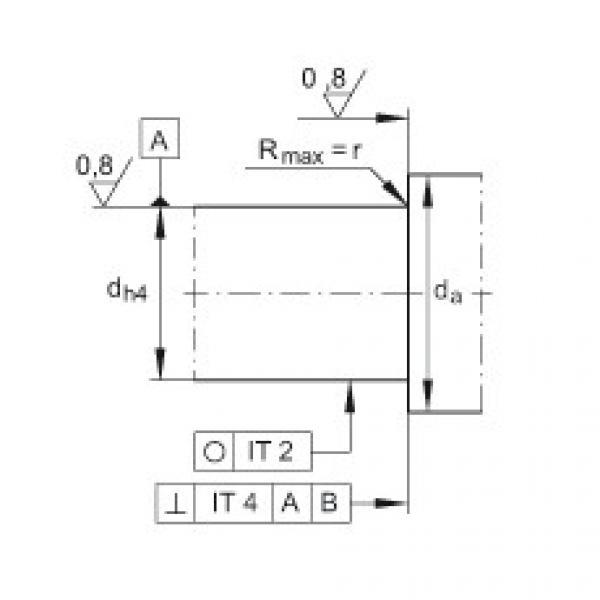 FAG Unidades de rolamento de esfera de contato angular - ZKLFA0640-2Z #3 image
