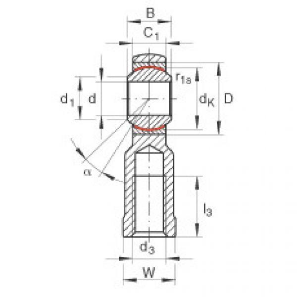 FAG Cabeças articuladas - GIKR10-PW #1 image
