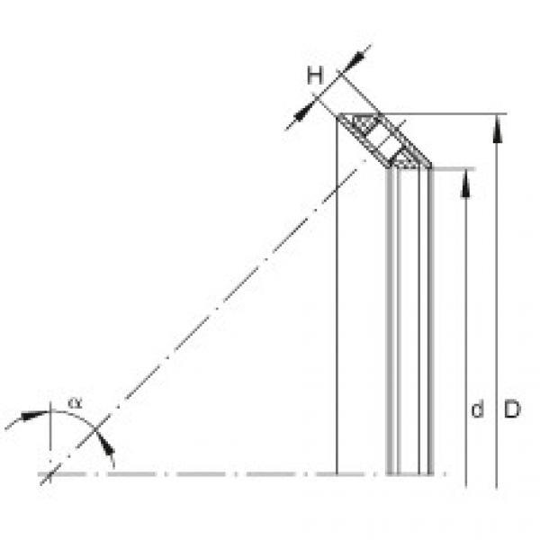 FAG Rolamento de rolos de contato angular axial - AXS1220 #1 image