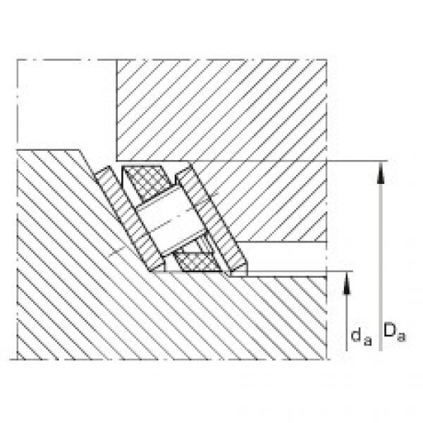 FAG Rolamento de rolos de contato angular axial - AXS1220 #2 image