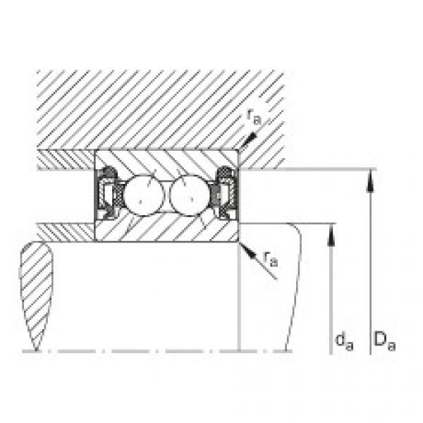 FAG Rolamento angular - 3800-B-2RZ-TVH #2 image