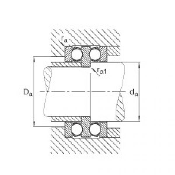 FAG Rolamento axial de esferas - 52202 #2 image