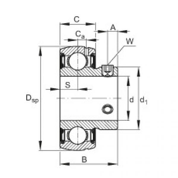 FAG Mancal tensor - SUB205 #1 image