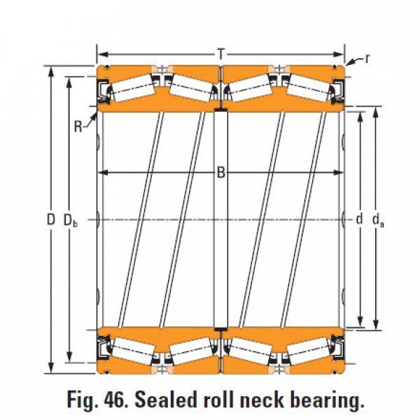 Rolamentos de rolo de rolo selado 132 O-ring #2 image