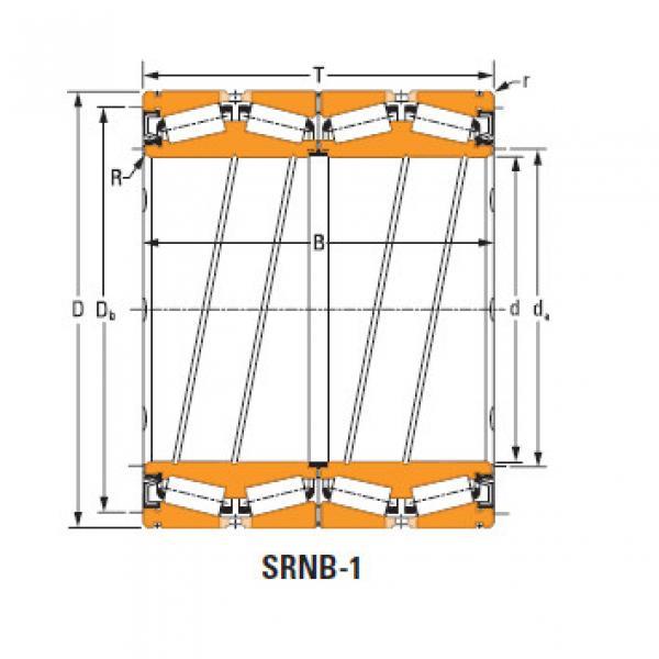 Rolamentos de rolo de rolo selado 1272 O-ring #1 image