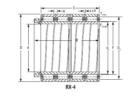 Bearing 180ARVSL1527 202RYSL1527
