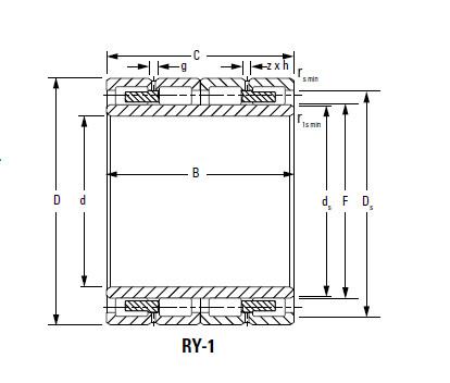 Bearing 480RX2303B RX-1